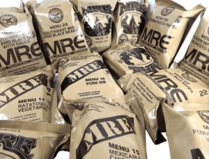 MREs vs. Freeze Dried Foods