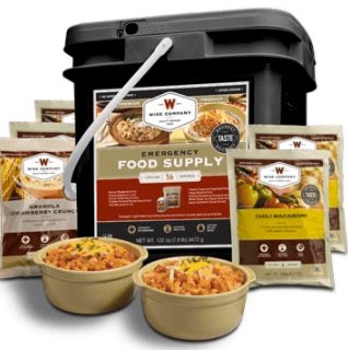 Freeze Dried Food Example